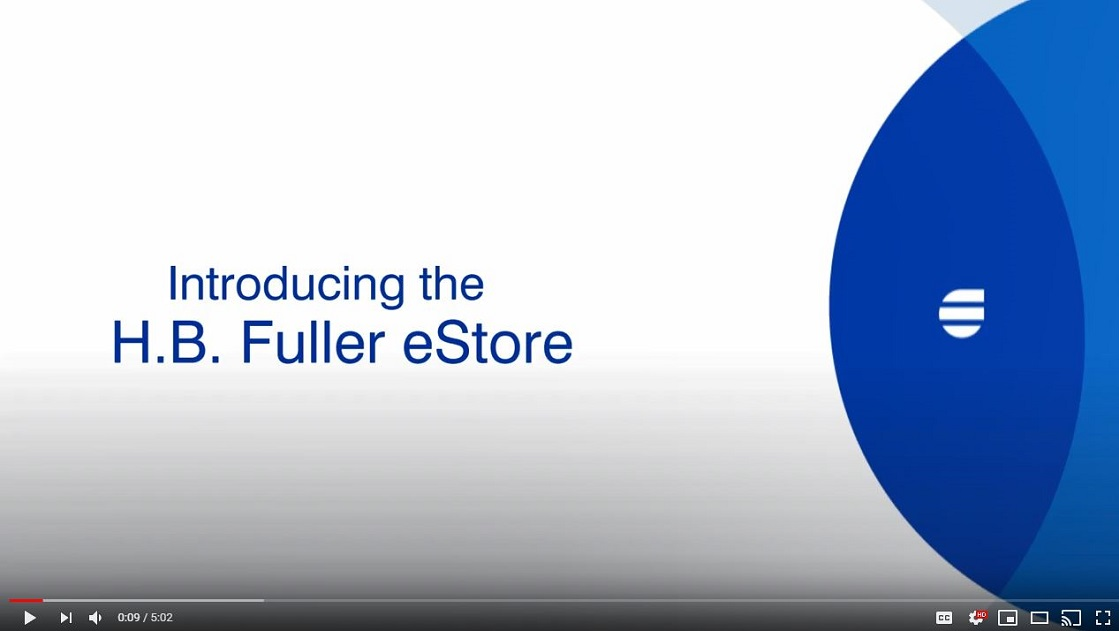 How to Use the H.B. Fuller eStore